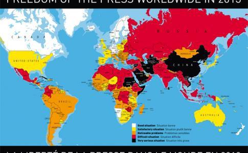 SPÉCIAL CENSURE La liberté de la presse dans le monde